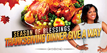 THANKSGIVING GIVE A WAY
